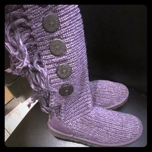 Knitted Ugg's